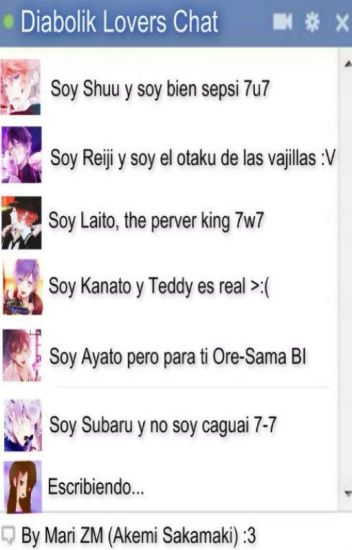 Diabolik Lovers Chat