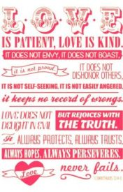 Love is Patient  Love is Kind (Watty Awards 2013) by Author-in-progress