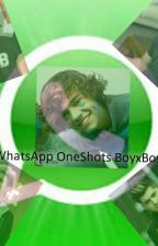 1D WhatsApp Oneshots by ZiallsNialler