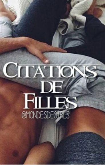 •.•Citations de filles•.•