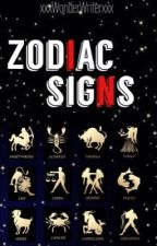 Zodiac Signs by xxxWonderWriterxxx