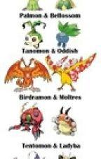Pokémon vs Digimon by DusktheUmbreon