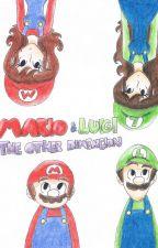 Mario & Luigi - The other dimencion by FlirtykiePie3