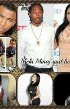 Nicki Minaj and the kids by bostic11
