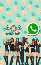 aoa ✿ whatsapp by heyitsunicorn