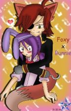 Bonnie X Foxy (Fonnie) by _thecutegirly_