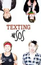 Texting 5SOS by irwinsyndrum