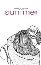 Summer || Michael Clifford by michael_is_a_giraffe