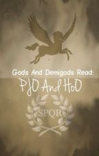 The Gods and Demigods read PJO and HOO by sugarhearts6