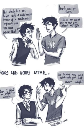 Voldemort's Grandson (Percy Jackson/ Harry Potter Crossover)