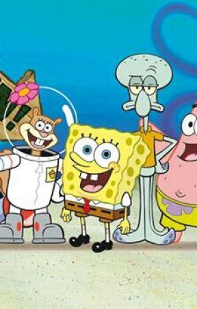 Spongebobovo dobrodružství s Patrikem, hledání pokladu by Meba-skill
