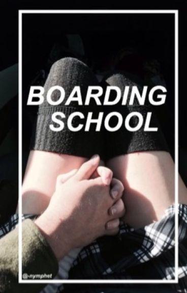 Boarding School➢h.s au