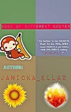Book of Different Quotes Season 1 & Season 2 by Janicka_Ella2