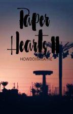 Paper Hearts II by howdoibreathe