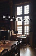 tattoos and flowers ; lashton by waterbabeluke