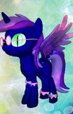 My Little Pony: Princess Sapphire by AngelDarkWolf
