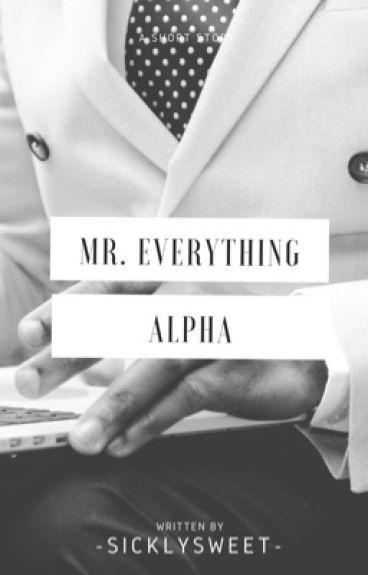 Mr. Everything Alpha (BxB)