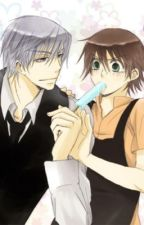 Everything's Better When You're Here (Junjou Romantica) by jewycenter1