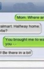 Comedy Texting by jessiegentry14