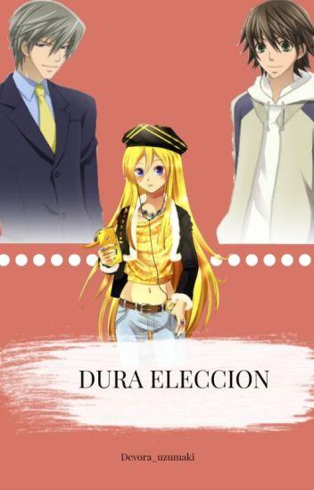 Dura elección (usagi,misaki y tu) (junjou romántica)*pausada*