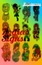 Zodiac Signs by MrGuineapigs