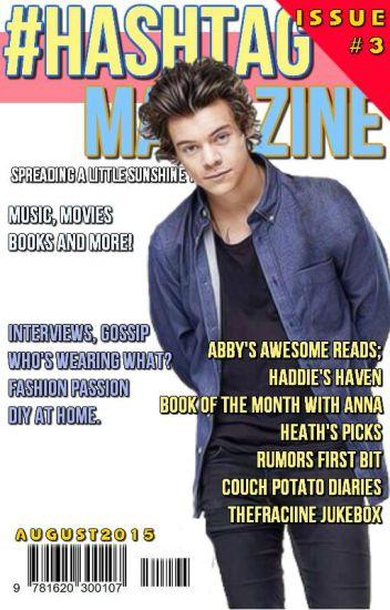 #HashtagMagazine - AUGUST 2015