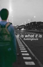 It is what it is || L.S by fuxkinglouis