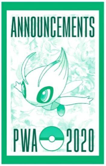 Announcement Book - Pokemon Watty Awards