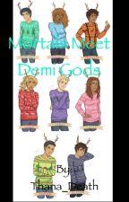 mortals meet demigods by Thana_Death