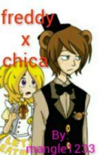 FREDDY Y CHICA by mangle1233