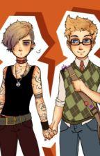 The Studies of a Gay Punk (Destiel AU) (Punk!Castiel) (Nerd!Dean) by ASliceOfDeansPie