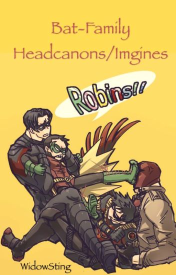 Bat-Family headcanons/imagines/preferences
