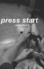 michael clifford // press start  by awmyhood