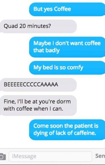 Coffee? (Bechloe)