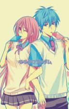 kuroko y momoi by matica17