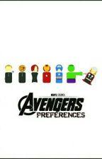 AVENGERS PREFERENCES (updates slow) by MARVELousBuckyBear
