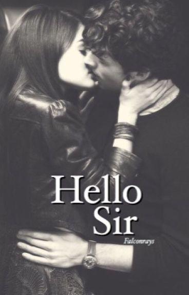 hello sir. [teacher and student]