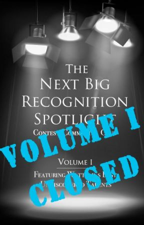 Next Big Recognition Contest by DawnStarling