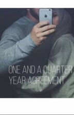 One And A Quarter Year Agreement (a muslim love story) #Wattys2016 by My_Rainbow_Dream