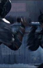 deathstroke vs batman by UTEXLawyer