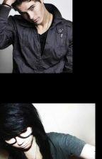 Emo Nerdy Girl & Bad Boy by x-dark-angel-x