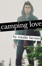 camping love; nash grier by Roeexoxo