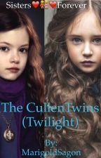 The Cullen Twins (Twilight) by MarigoldSagon