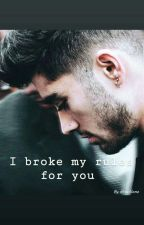 I broke my rules for you LT (Z.M.) BAIGTA by directionz
