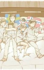 Living with the Nordics (APH Fan Fiction) by HerrDeutschland