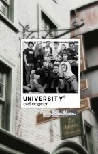 university ※ old magcon | ✓ by cashtonklein