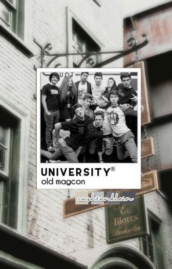 university ※ old magcon | ✓