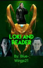 Loki and Reader by Blue-Wings21