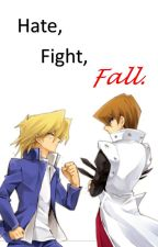 Hate, Fight, Fall. (Puppyshipping)  by Rachel4615