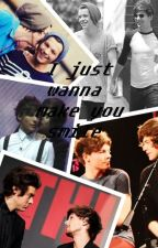 I just wanna make you smile (Larry Fanfic in Finnish) by Nomisir